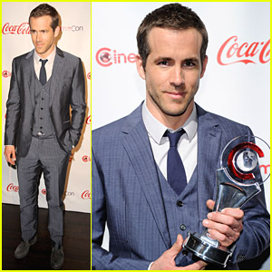 Ryan Reynolds: CinemaCon Awards 2011