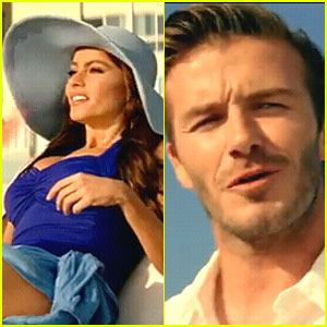 David Beckham &#038; Sofia Vergara: Diet Pepsi Ad Debut!