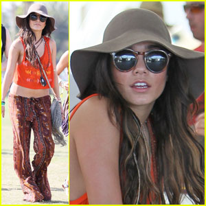 Vanessa Hudgens: Coachella with Josh Hutcherson!