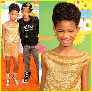 Willow Smith - KCA 2011 Orange Carpet
