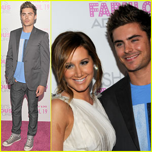 Zac Efron: 'Sharpay's Fabulous Adventure' VIP Reception!