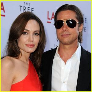 Angelina Jolie: 'I Am Very Lucky with Brad'