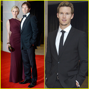 Anna Paquin & Stephen Moyer - White House Correspondents' Dinner