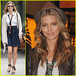 AnnaLynne McCord Visits NYC
