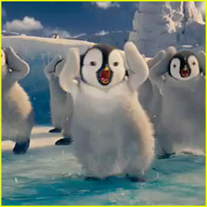 Brad Pitt & Matt Damon: 'Happy Feet Two' Teaser Trailer!