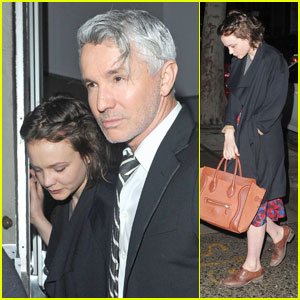 Carey Mulligan: Night Out with Baz Luhrmann!