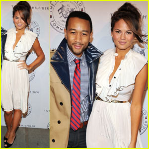 John Legend: Tommy Hilfiger Bash with Chrissy Teigen