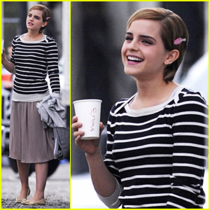 Emma Watson: Less Makeup, Less Accessories