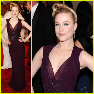 Evan Rachel Wood - MET Ball 2011