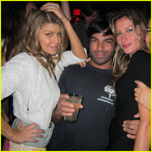 Fergie &#038; Gisele Hit Harry Josh's Spring Fling