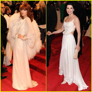 Florence Welch & Julianna Margulies - MET Ball 2011