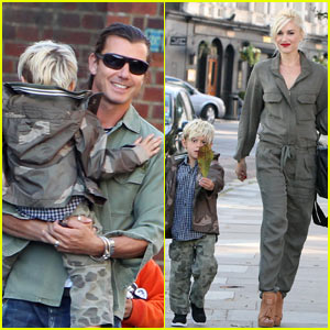 Gwen Stefani & Gavin Rossdale: London With The Boys!