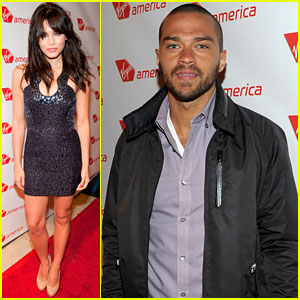 Jenna Dewan &#038; Jesse Williams: Virgin America Flight Launch!