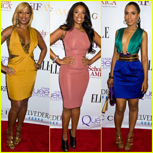 Jennifer Hudson &#038; Kerry Washington: Mary J. Blige Honors Concert!