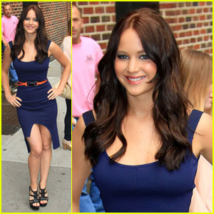 Jennifer Lawrence: Lovely at 'Letterman'