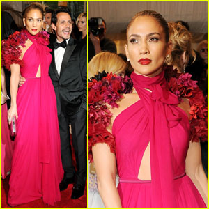 Jennifer Lopez - MET Ball 2011 With Marc Anthony