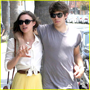 Keira Knightley: Saturday Stroll with James Righton