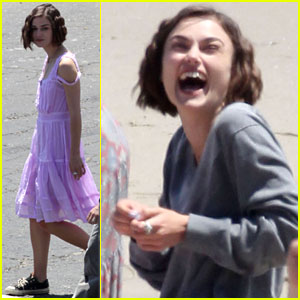 Keira Knightley: Laughing on Set with Steve Carell!