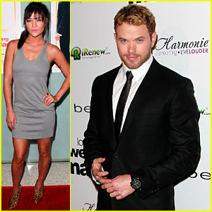 Kellan Lutz & Jessica Szohr: 'Love, Wedding, Marriage' Premiere!