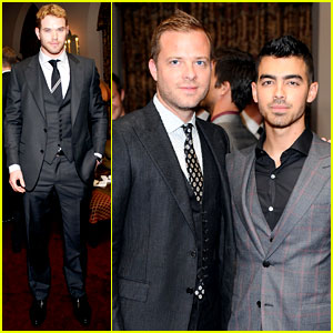 Kellan Lutz & Joe Jonas: Simon Spurr Private Dinner!