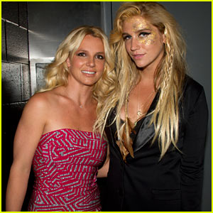 Ke$ha Meets Britney Spears - Exclusive