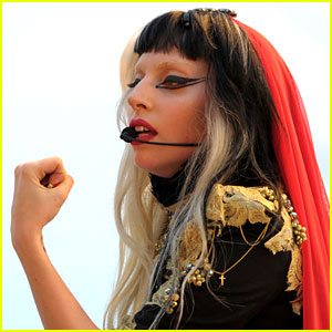 Lady Gaga: 'Judas' Performance at the Cannes Film Festival!