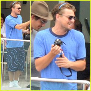 Leonardo DiCaprio: Beastie Boys Tee in Italy!