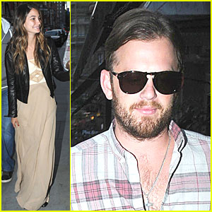 Caleb Followill & Lily Aldridge: Scott's Restaurant Stop