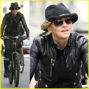 Madonna: Biking in the Big Apple
