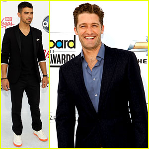 Matthew Morrison & Joe Jonas - Billboard Awards 2011