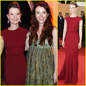 Mia Wasikowska: 'Restless' Premiere with Bryce Dallas Howard!