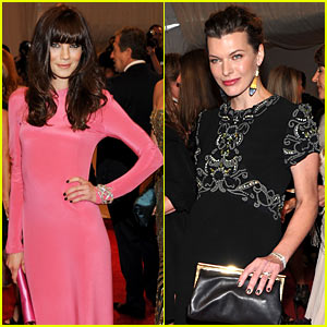 Michelle Monaghan & Milla Jovovich: MET Ball 2011!