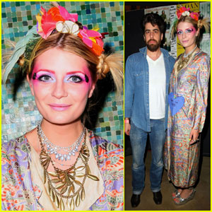 Mischa Barton: Geisha at Goldberg Sisters Benefit Concert!