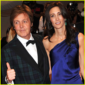 Paul McCartney with beautiful, Wife Nancy Shevell