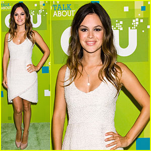 Rachel Bilson: CW Upfront with Jaime King!
