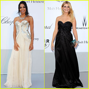 Rosario Dawson &#038; Mischa Barton: amfAR Gala!