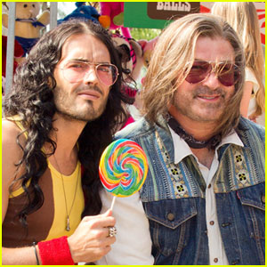 Russell Brand & Alec Baldwin in 'Rock of Ages' - First Look!
