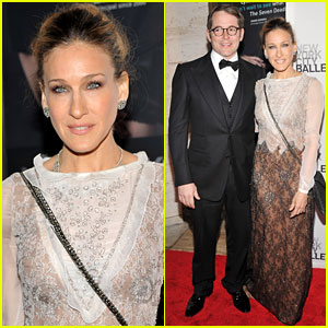 Sarah Jessica Parker: NYC Ballet with Matthew Broderick!