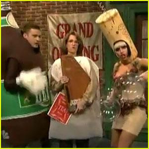 Justin Timberlake: 'Liquorville' SNL Sketch with Lady Gaga!