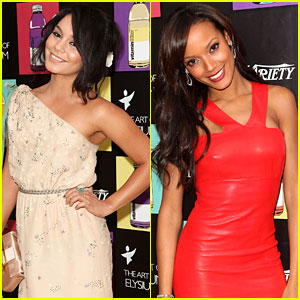 Vanessa Hudgens: Paradis Party with Selita Ebanks!