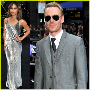 Zoe Kravitz & Michael Fassbender: 'X-Men: First Class' Premiere!