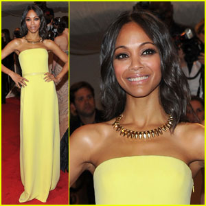 Zoe Saldana - MET Ball 2011