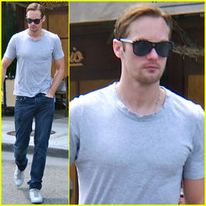 Alexander Skarsgard 'Had Strong Opinions' About 'Battleship'