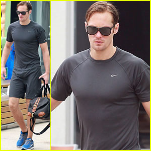Alexander Skarsgard: Friday Gym Time!