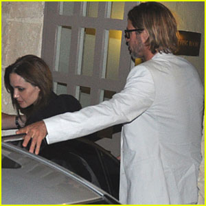 Brad Pitt & Angelina Jolie: Date Night in Malta!