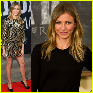 Cameron Diaz Brings 'Bad Teacher' to London