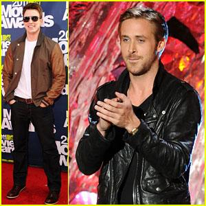 Chris Evans & Ryan Gosling: MTV Movie Awards 2011!