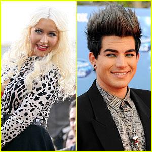 Christina Aguilera: Duet with Adam Lambert?
