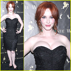 Christina Hendricks: 'Anxious &