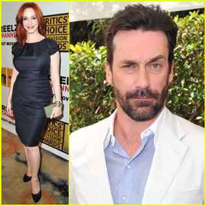 Jon Hamm & Christina Hendricks: Critics' Choice Winners!